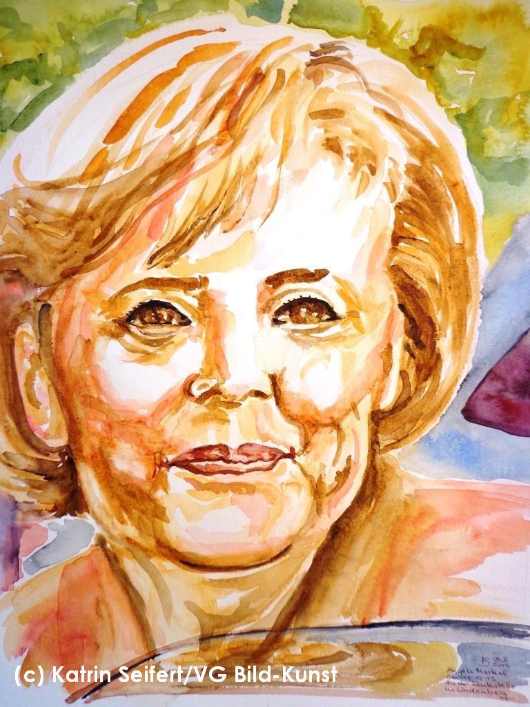 Angela Merkel, Portrait, Katrin Seifert