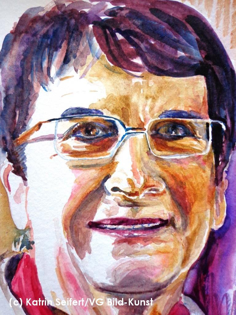 Anita, Portrait, Katrin Seifert