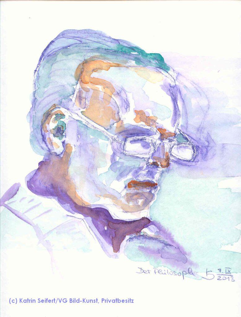 Der Philosoph, Portrait, Katrin Seifert