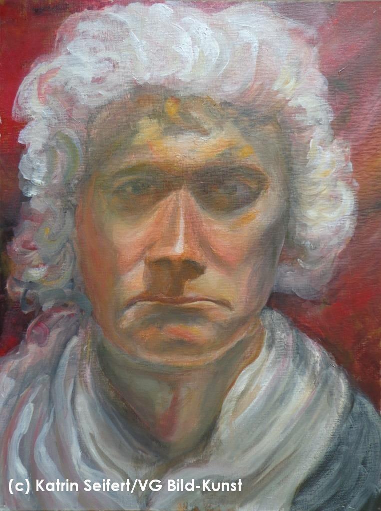 Christian als Mozart, Portrait, Katrin Seifert