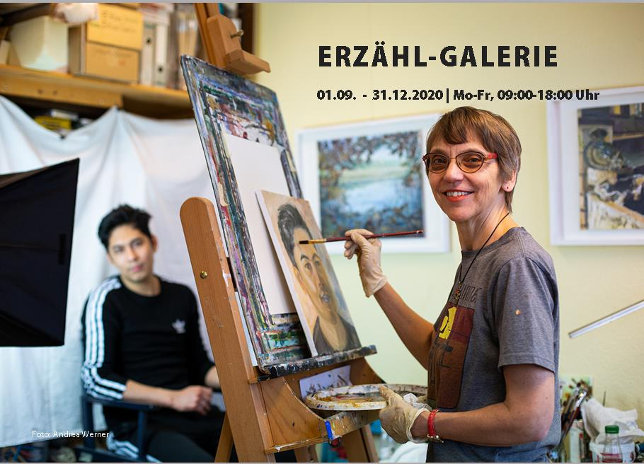 Katrin Seifert, Portraits, Erzähl-Galerie