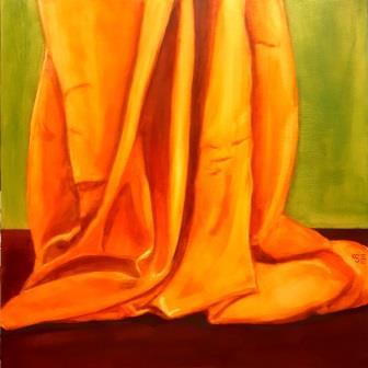 Katrin Seifert, Illusionsmalerei, Vorhang