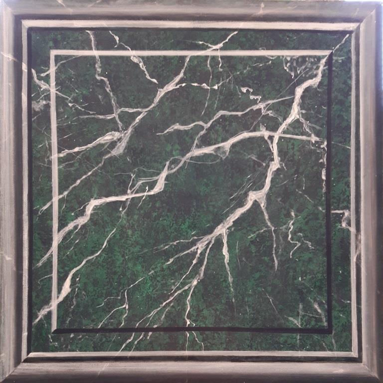 Nero Marquina, Illusionsmalerei, Scheinoberfläche, Katrin Seifert