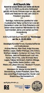ArtChurch.me, Katrin Seifert, Ausstellung