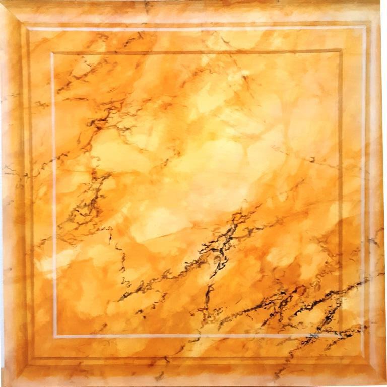 Siena Marmor, Illusionsmalerei, Scheinoberfläche, Katrin Seifert