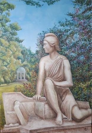 Katrin Seifert, Illusionsmalerei, Wandmalerei