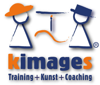 Logo, kimages Training+Kunst+Coaching, Katrin Seifert
